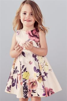Floral Printed Dress (3mths-6yrs)