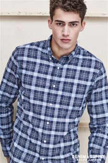 Ralph Lauren Denim And Supply Tonal Check Shirt
