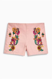 Front Embellished Shorts (3-16yrs)