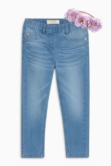 Jeggings With Floral Headband (3-16yrs)