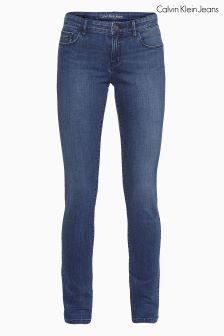 Calvin Klein Mid Wash Mid Rise Skinny Jean