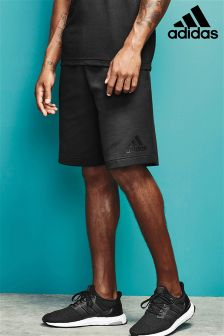 adidas Black Zone Knitted Short