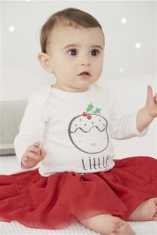 Long Sleeve Pudding Bodysuit (0mths-2yrs)