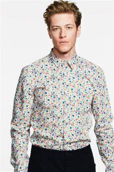 Print Slim Fit Shirt