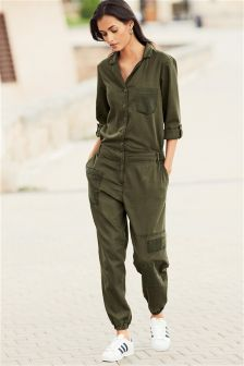 Patch Jumpsuit