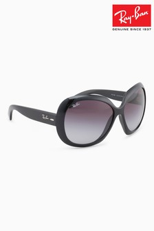 Ray-Ban® Black Jackie Ohh II Oversized Sunglasses