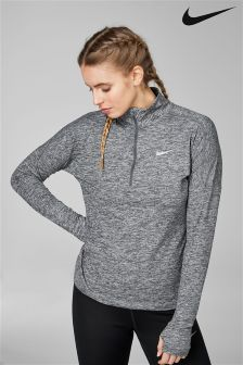 Nike Grey Element Half Zip Top
