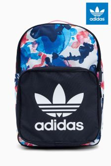 adidas Originals Navy Floral Backpack