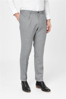 Wool Mix Fashion Trousers