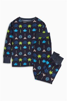 Alien Snuggle Pyjamas (2-12yrs)