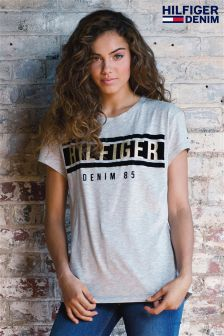 Hilfiger Denim Grey Graphic T-Shirt