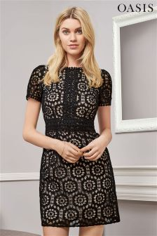 Oasis Isla Lace Dress