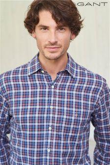 Gant Red/Blue Town Tartan Shirt