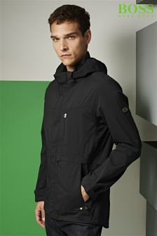 Boss Green Black Jolvic Parka