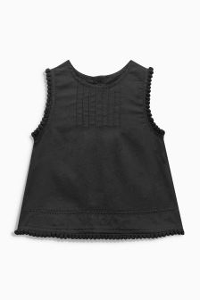 Ruffle Sleeve Blouse (3mths-6yrs)
