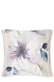 Embellished Elegant Floral Cushion