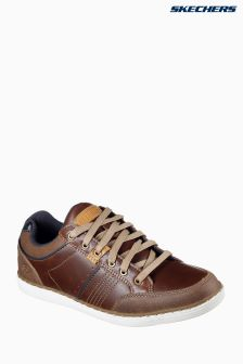 Skechers® Brown Lanson Rometo Lace Shoe