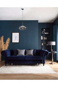 Antique Effect Chambray Oriental Rug