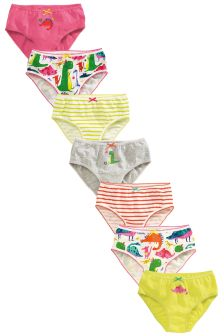 Dinosaur Briefs Seven Pack (1.5-12yrs)