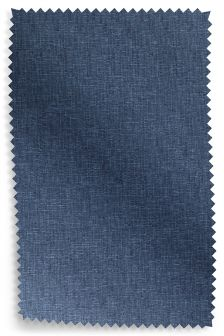 Boucle Weave Tonal Blue Fabric Roll