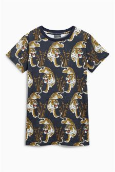 Tiger All Over Print T-Shirt (3-16yrs)