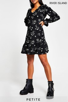 Whistles Black Aniko Collarless Coat