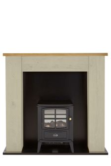 Kendall Painted Stove Suite Surround With Brayford Engine By Dimplex