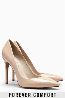 Signature Pointed Court Shoes