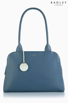 Radley® Blue Millbank Zip Top Tote Bag
