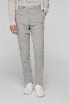Linen Suit: Trousers