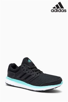 adidas Black/Mint Galaxy 3