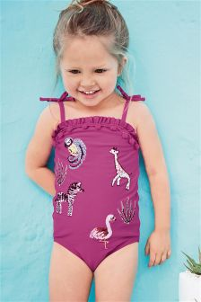 Embroidered Swimsuit (3mths-6yrs)