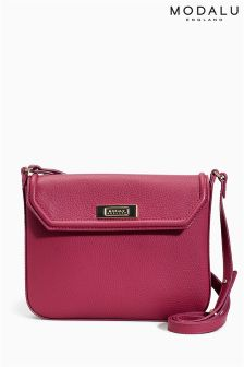 Modalu Lily Raspberry Crossbody Bag