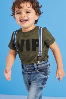 Short Sleeve VIP T-Shirt (3mths-6yrs)