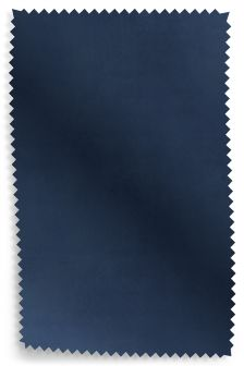 Matt Velvet Admiral Blue Fabric Roll