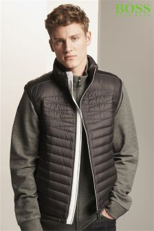 Boss Green Black Down Gilet