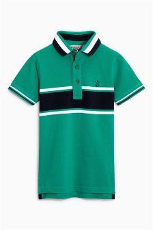 Stripe Pique Polo (3-16yrs)