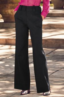 Utility Pocket Wide Leg Trousers