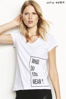 Justin Bieber Lyric T-Shirt