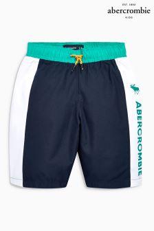 Abercormbie & Fitch Navy Swim Short