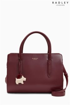 Radley® Burgundy Liverpool Street Medium Multiway Bag