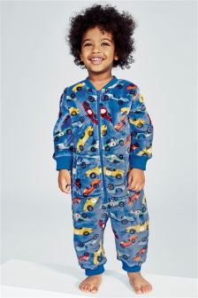 Race Car Fleece All-In-One (9mths-8yrs)