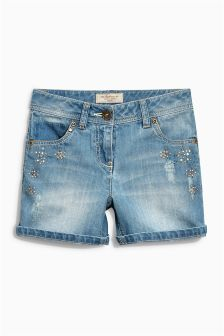 Embellished Shorts (3-16yrs)