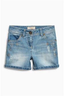 Embellished Shorts (3-16yrs)