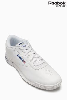 Reebok White Classic Ex-O-Fit Clean Logo Trainer