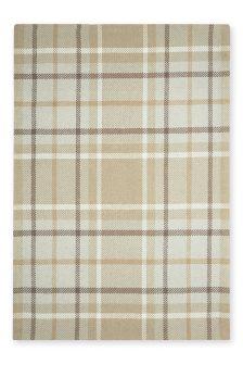 Wool Natural Check Rug