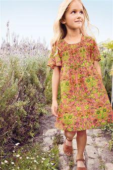 Printed Shift Dress (3-16yrs)