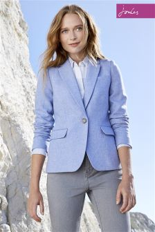 Joules Lizbeth Edie Tweed Blazer