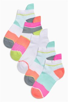 Trainer Sock Five Pack (Older Girls)