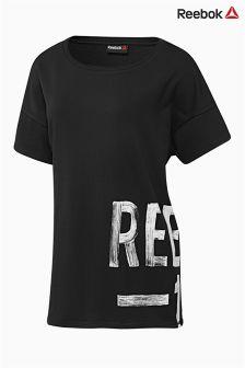 Reebok Sport Black Logo T-Shirt